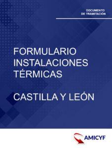 2. FORMULARIO PARA INSTALACIONES TÉRMICAS EN CASTILLA Y LEÓN