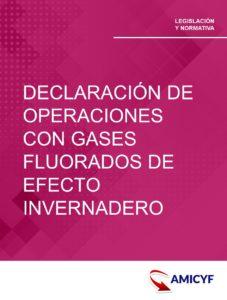 3. ORDEN HAP/369/2015 - MODELO 586 DE DECLARACIÓN DE OPERACIONES CON GASES FLUORADOS DE EFECTO INVERNADERO