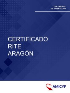 1. CERTIFICADO RITE ARAGÓN INSTALACIÓN TÉRMICA - MODELO C0009A