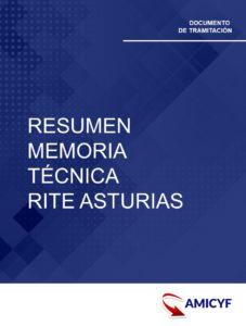 RESUMEN DE MEMORIA TÉCNICA RITE ASTURIAS