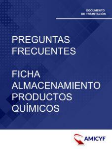 6. PREGUNTAS FRECUENTES FICHA ALMACENAMIENTO PRODUCTOS QUÍMICOS - ANDALUCÍA