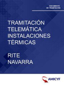 9. TRAMITACIÓN TELEMÁTICA PARA LAS INSTALACIONES TÉRMICAS - RITE NAVARRA