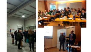 Encuentro Técnico entre ingenierías y fabricantes en el que se trataron temas sobre' Sistemas de calefacción radiante por combustión de gas. Un caso práctico'.