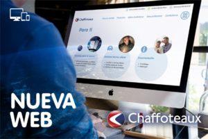 Chaffoteaux lanza su nueva página web