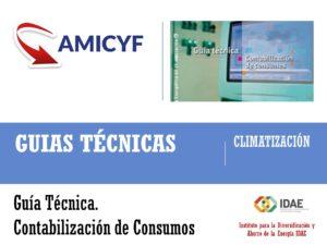 Guía técnica: contabilización de consumos