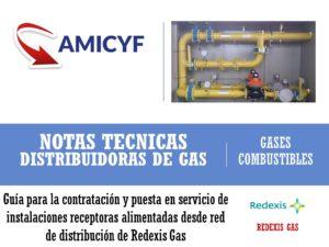 Puesta en Servicio de Instalaciones Receptoras de Gas