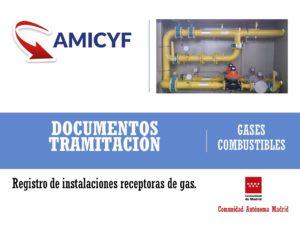 Puesta en Servicio de Instalaciones Receptoras de Gas con Proyecto Madrid