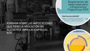 ornada Técnica sobre Novedades del RSIF que afectan a Empresas Térmicas Habilitadas